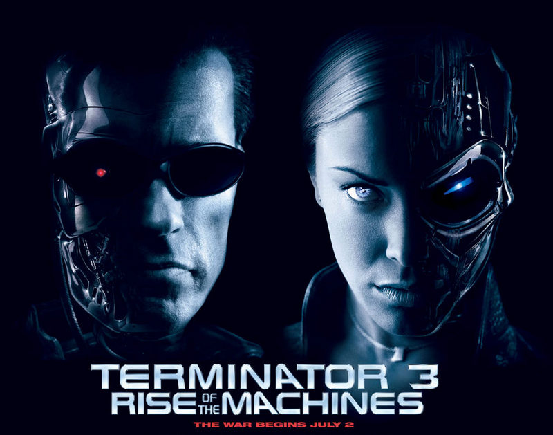 Terminator 3: Rise of the Machines (2003, dir. Jonathan Mostow)