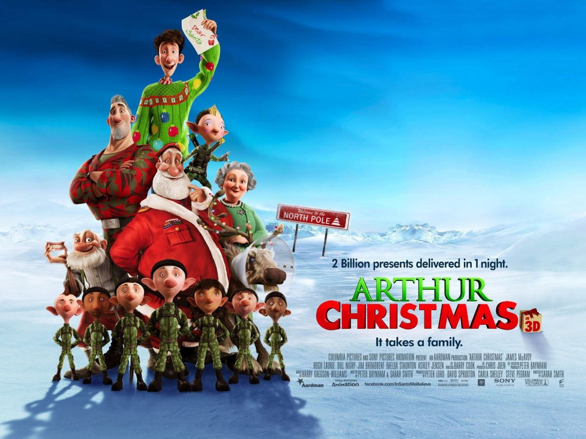 Arthur Christmas (2011, dir. Sarah Smith)