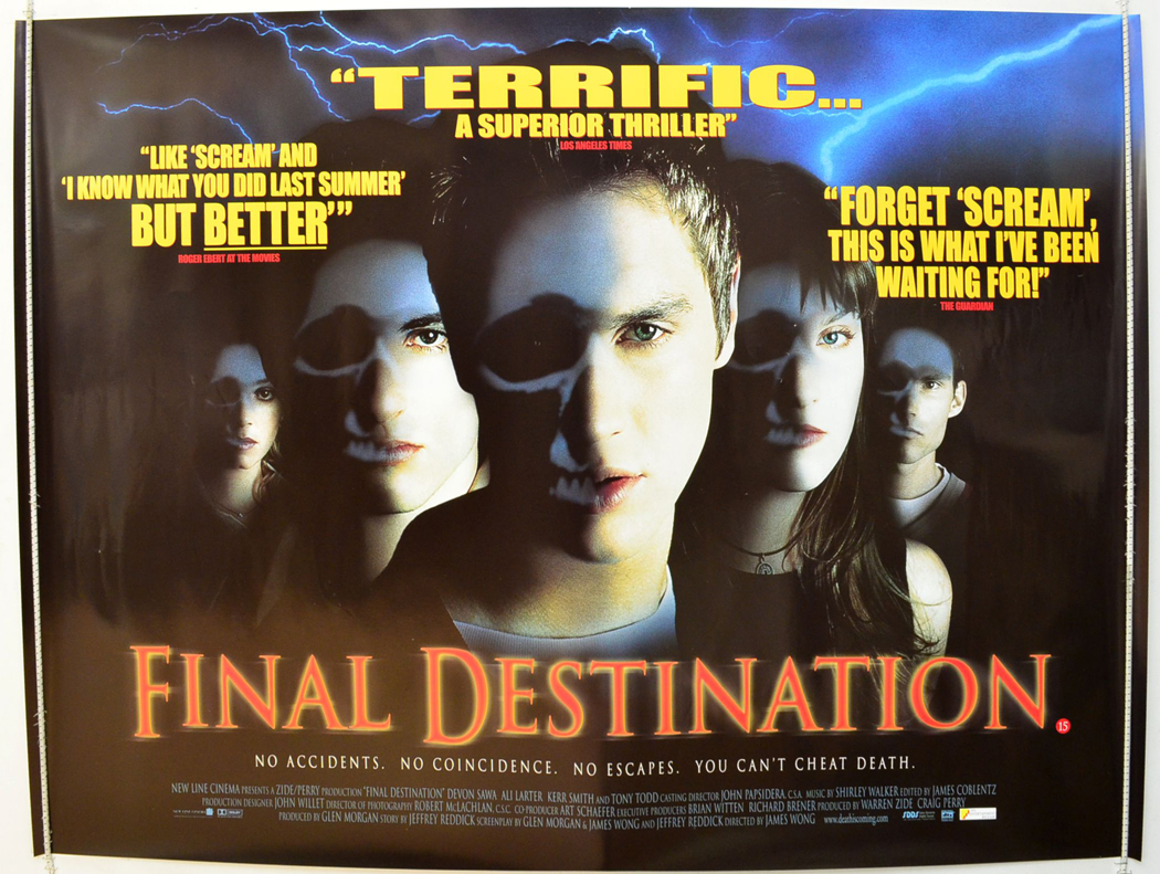 Final Destination (2000, dir. JamesWong)