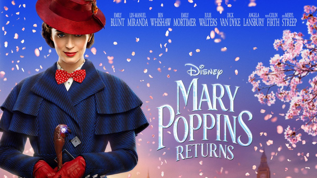 Mary Poppins Returns (2018, dir. Rob Marshall)