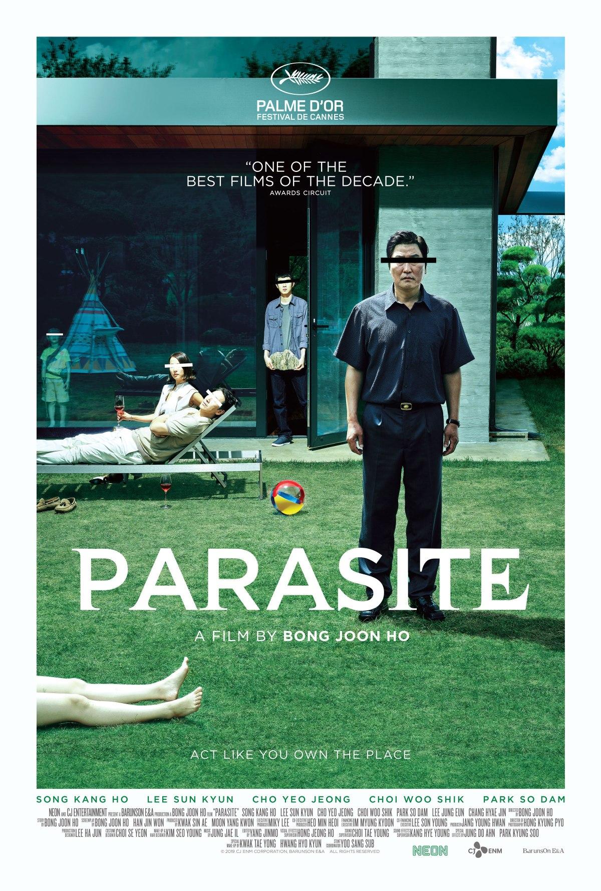 Parasite (2019, dir. BongJoon-ho)