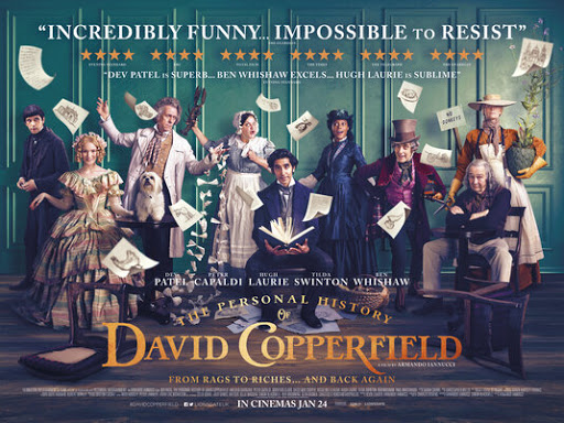 The Personal History of David Copperfield (2019, dir. ArmandoIannucci)