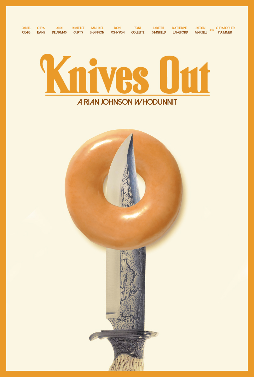 Knives Out (2019, dir. Rian Johnson)