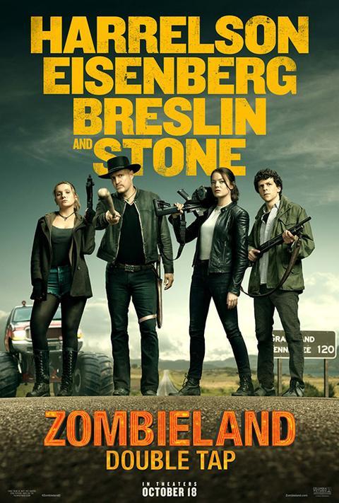 Zombieland: Double Tap (2019, dir. RubenFleischer)