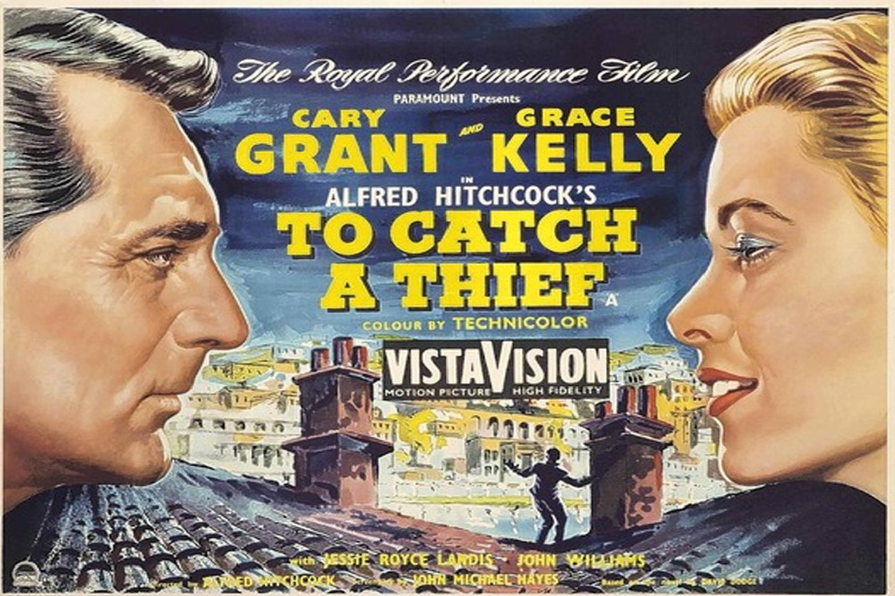 To Catch a Thief (1955, dir. AlfredHitchcock)