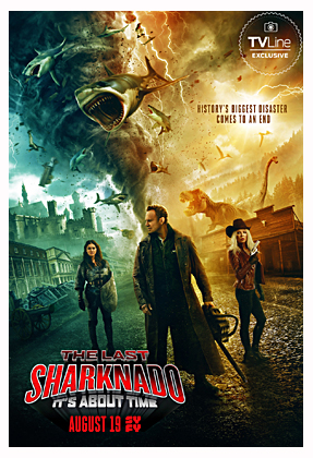 The Last Sharknado: It's About Time (2018, dir. Anthony C. Ferrante)