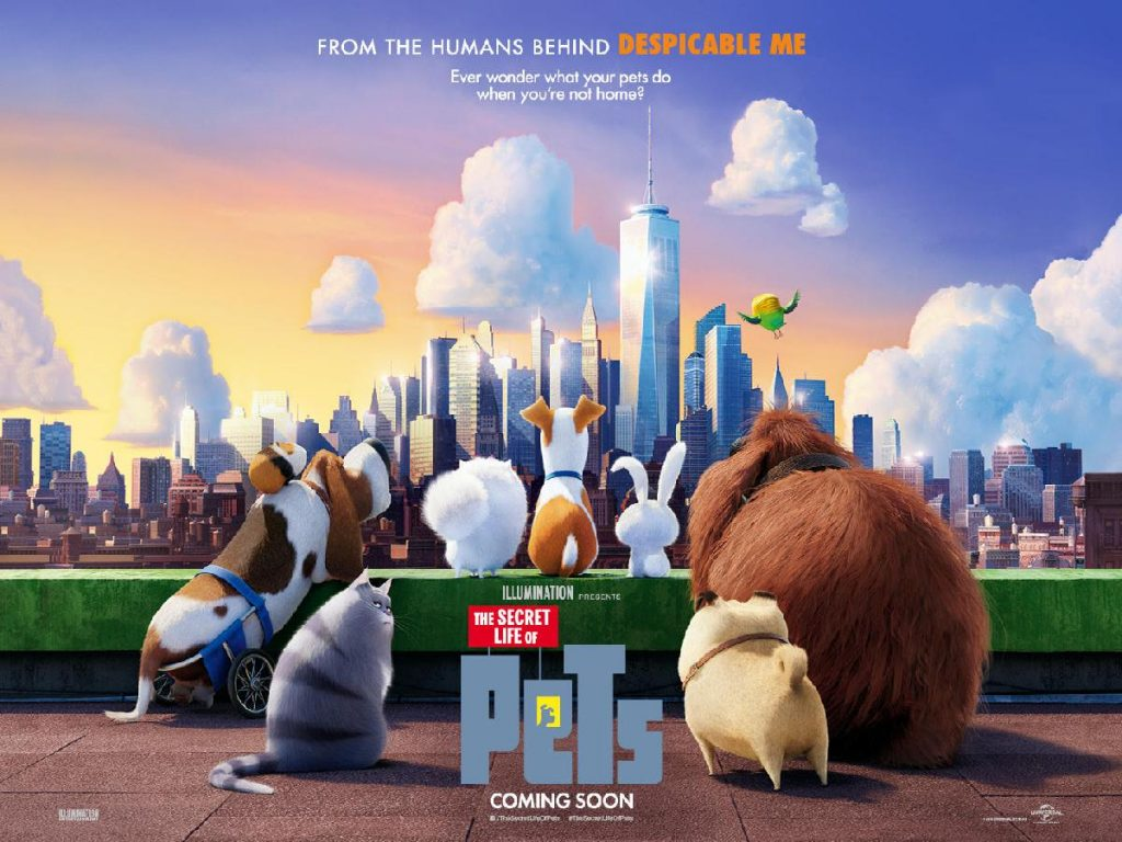 The Secret Life of Pets (2016, dir. Chris Renaud & Yarrow Cheney)