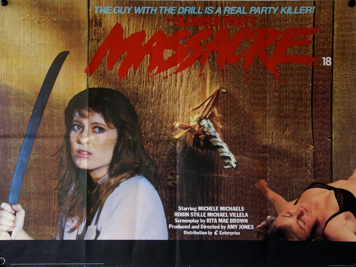 The Slumber Party Massacre (1982, dir. Amy HoldenJones)