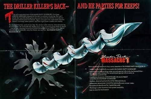 Slumber Party Massacre II (1987, dir. DeborahBrock)
