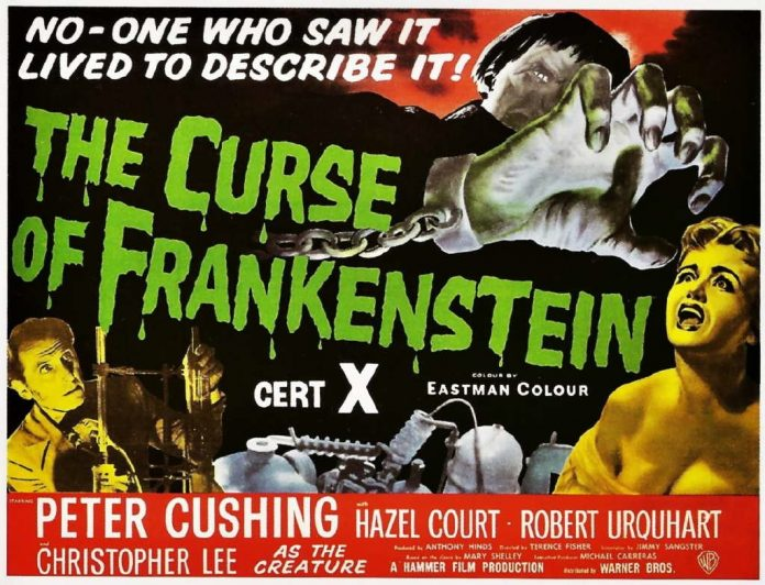 The Curse of Frankenstein (1957, dir. Terence Fisher)