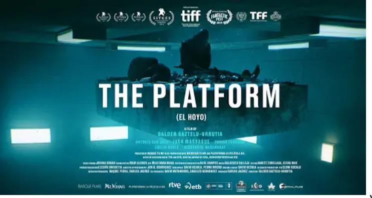 The Platform [AKA El Hoyo] (2019, dir. Galder Gaztelu-Urrutia)