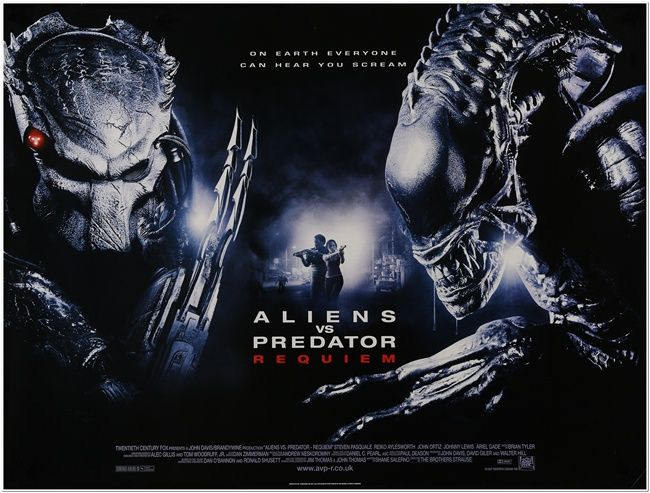 Aliens vs. Predator: Requiem [AKA AVPR: Aliens vs Predator 2 – Requiem] (2007, dir. The Brothers Strause)