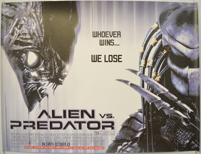 Alien vs. Predator [AKA AvP: Alien vs. Predator] (2004, dir. Paul WS Anderson)