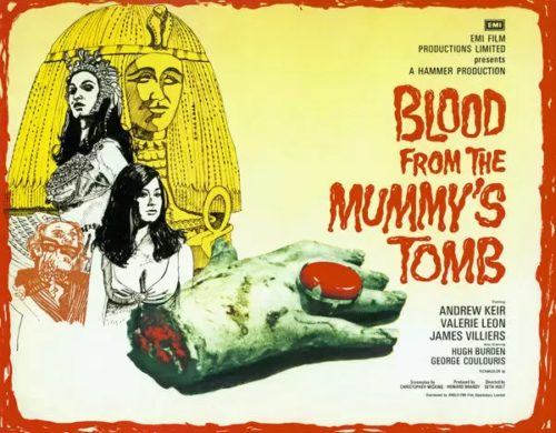 Blood From The Mummy's Tomb (1971, dir. Seth Holt [and MichaelCarreras])