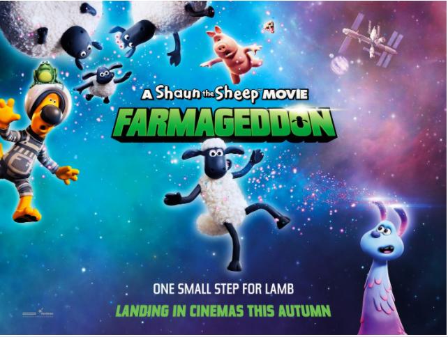 A Shaun the Sheep Movie: Farmageddon (2019, dir. Richard Phelan & WillBecher)