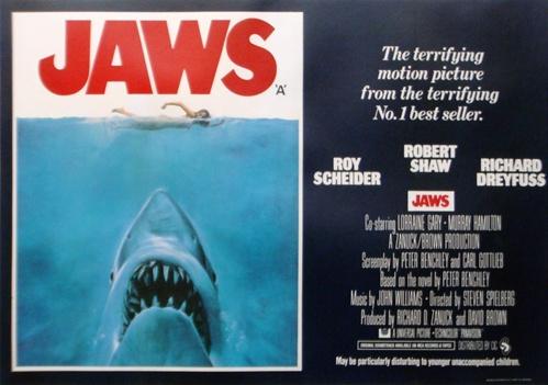 Jaws (1975, dir. StevenSpielberg)