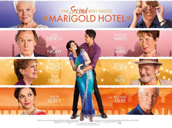The Second Best Exotic Marigold Hotel (2015, dir. John Madden)