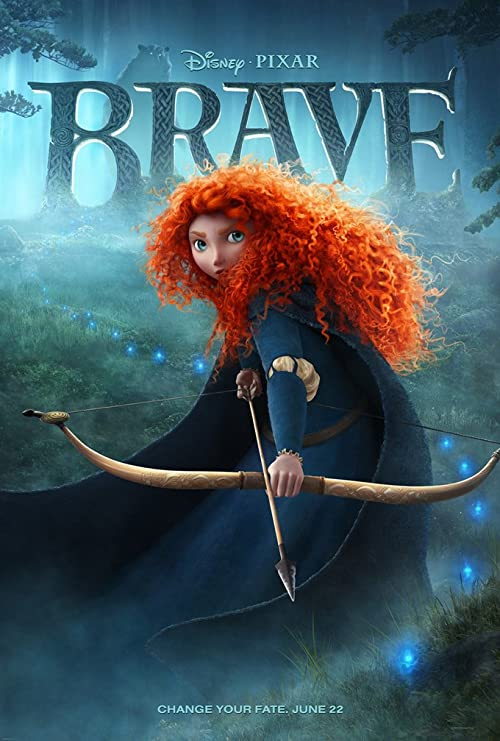 Brave (2012, dir. Mark Andrews & Brenda Chapman, with Steve Purcell)
