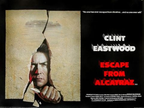 Escape From Alcatraz (1979, dir. Don Siegel)