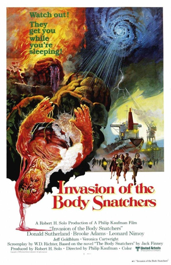 Invasion of the Body Snatchers (1978, Dir. PhilipKaufman)