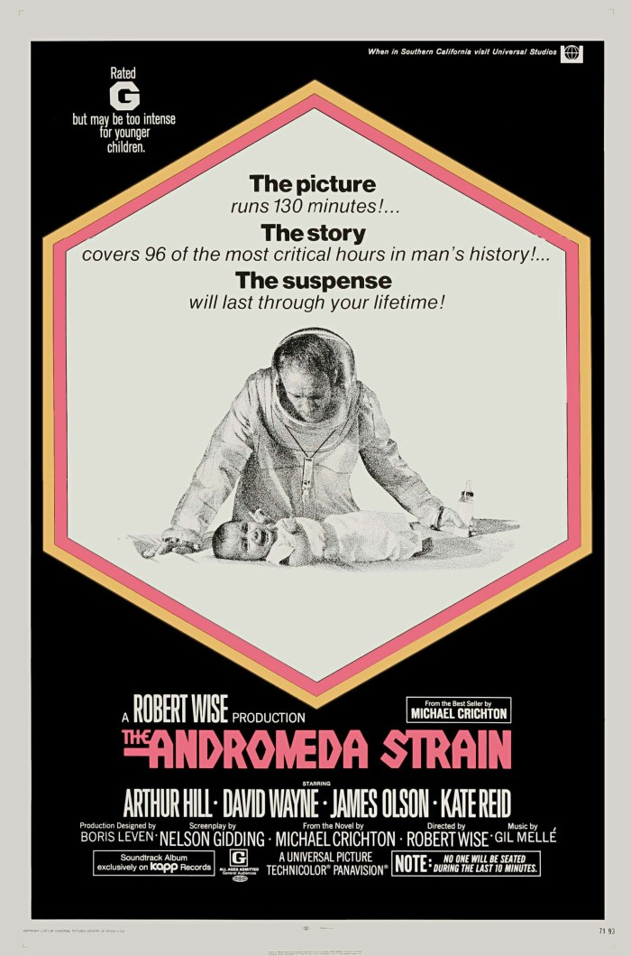 The Andromeda Strain (1971, Dir, Robert Wise)