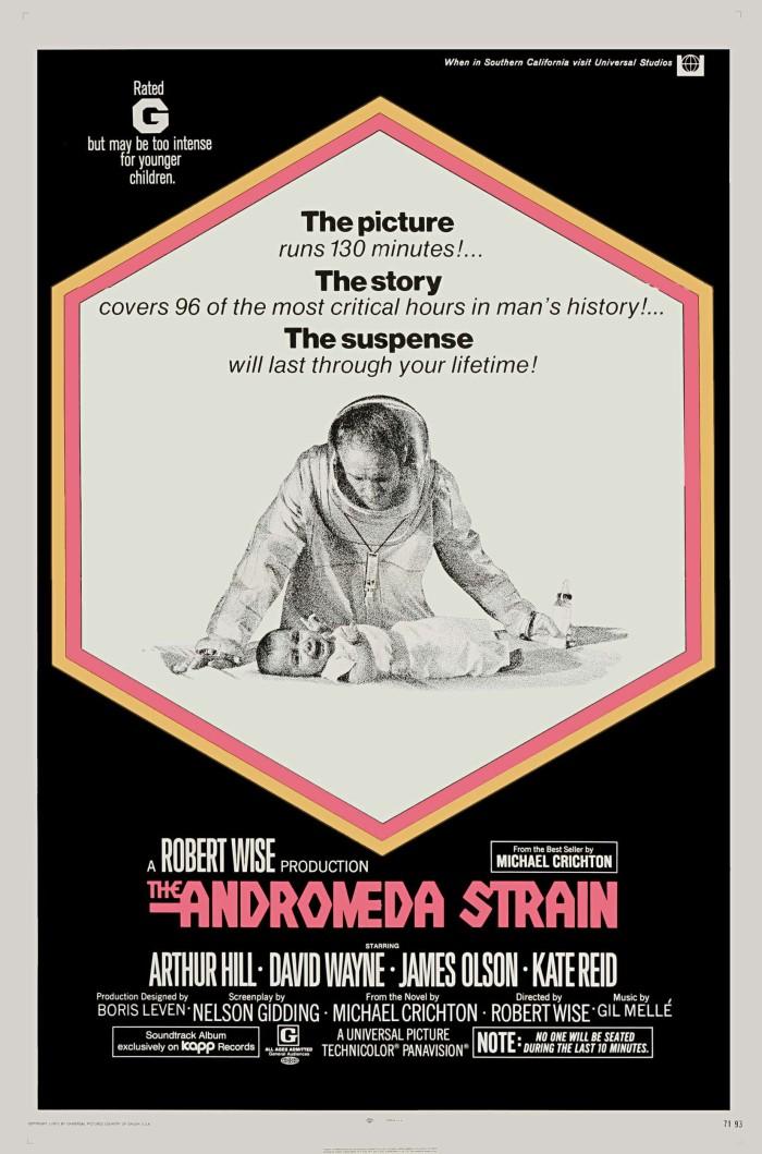 The Andromeda Strain (1971, Dir, RobertWise)