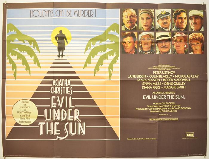 Evil Under The Sun (1982, dir. GuyHamilton)
