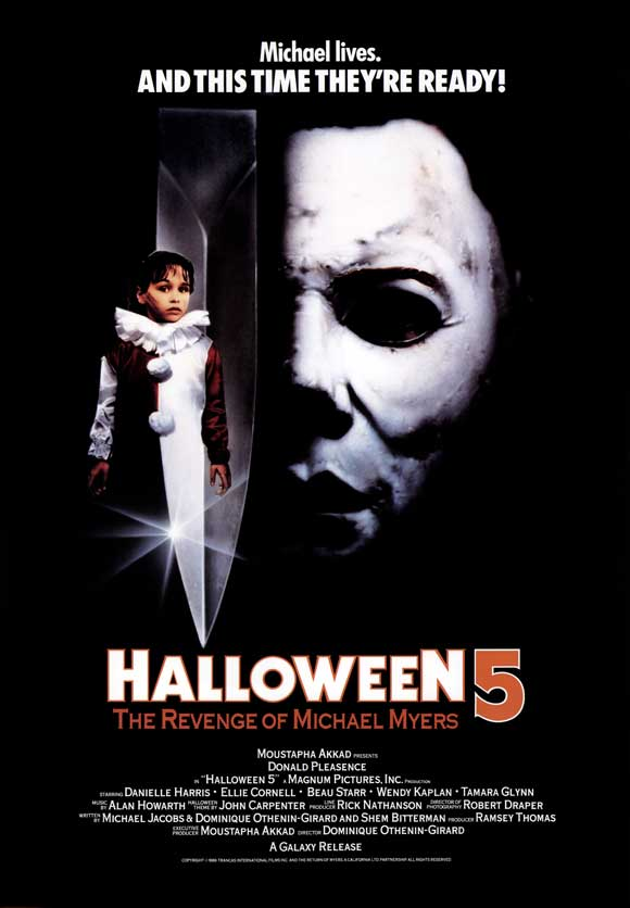 Halloween 5 [AKA Halloween 5: The Revenge of Michael Myers] (1989, dir. Dominique Othenin-Girard)