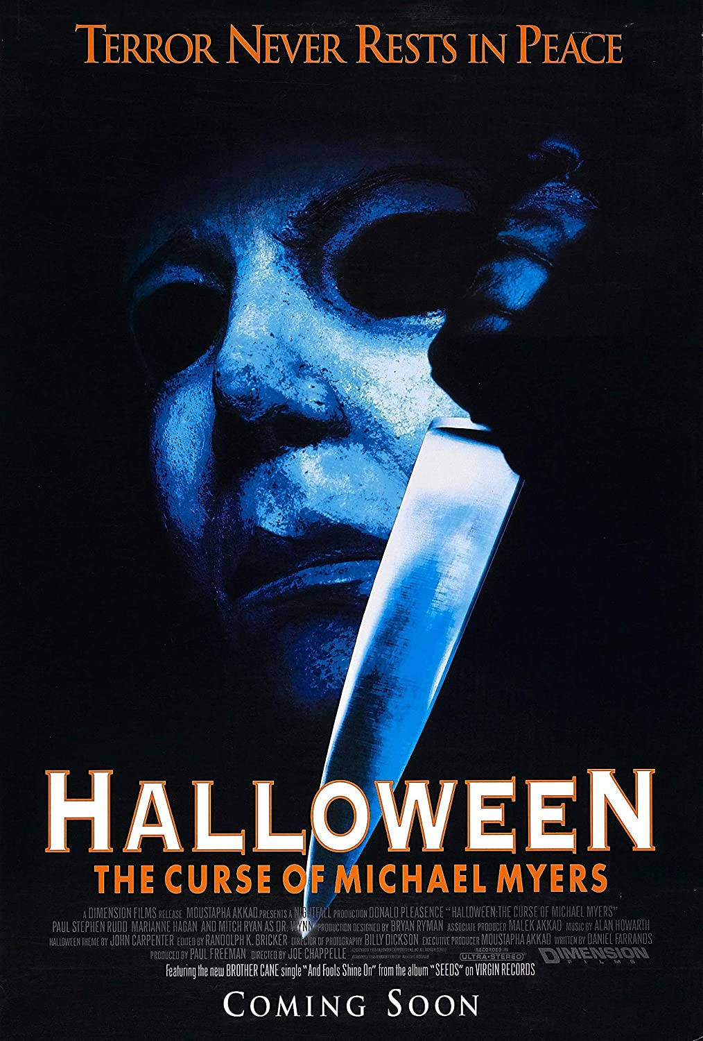 Halloween: The Curse of Michael Myers [AKA Halloween 6] (1995, dir. Joe Chapelle)