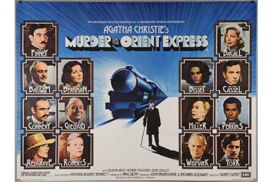 Murder on the Orient Express   (1974, dir. Sidney Lumet)