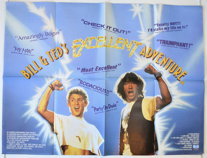 Bill & Ted's Excellent Adventure (1989, dir. StephenHerek)