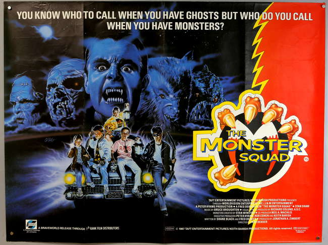 The Monster Squad (1987, dir. Fred Dekker)