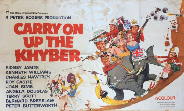 Carry On Up The Khyber (1968, dir. GeraldThomas)
