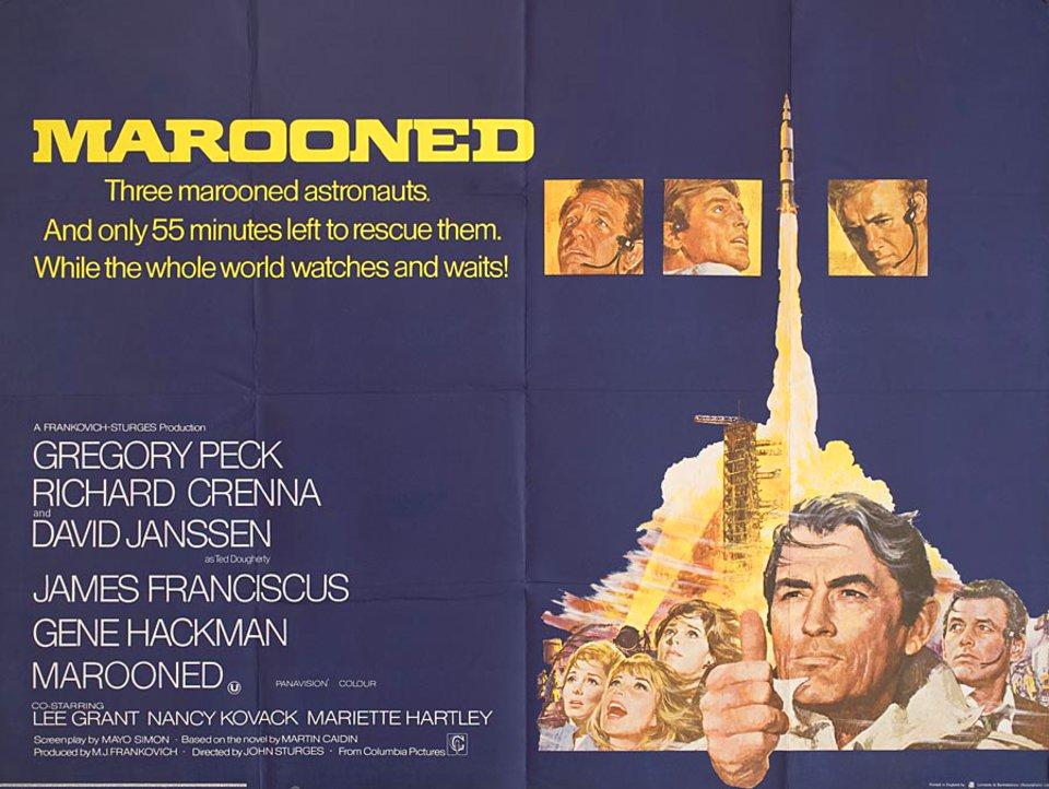 Marooned [AKA Space Travelers] (1969, dir. JohnSturges)