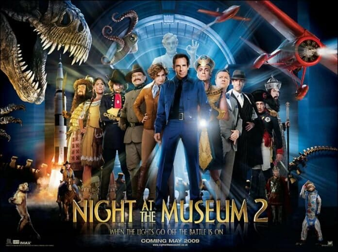 Night at the Museum: Battle of the Smithsonian [AKA Night at the Museum 2] (2009, dir. ShawnLevy)