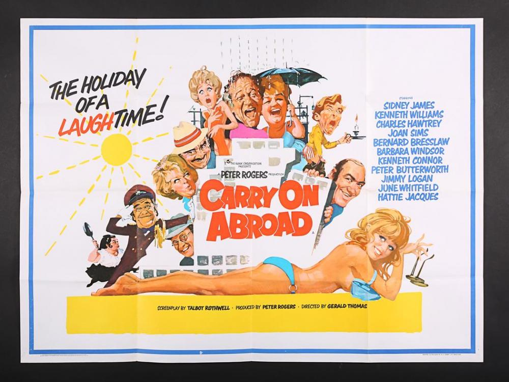 Carry On Abroad (1972, dir. GeraldThomas)