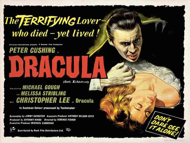 Dracula [AKA Horror of Dracula] (1958, dir. TerenceFisher)