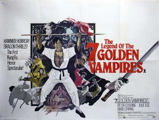 The Legend of the 7 Golden Vampires (1974, dir. Roy Ward Baker [and ChangCheh])
