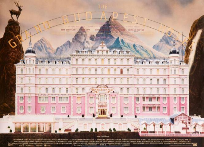 The Grand Budapest Hotel (2014, dir. WesAnderson)