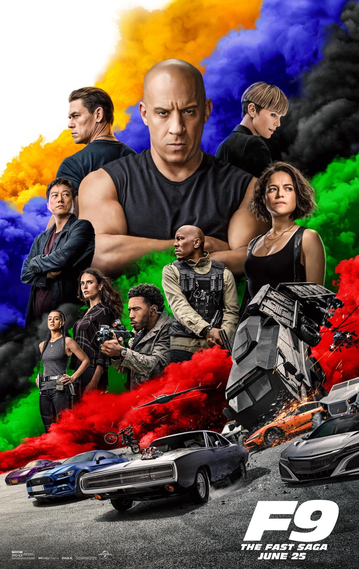 F9: The Fast Saga (a.k.a Fast and Furious 9) (2021, Dir. JustinLin)
