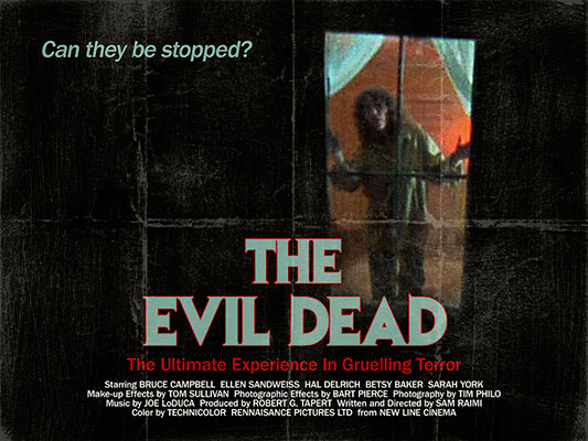 The Evil Dead (1982, dir. SamRaimi)