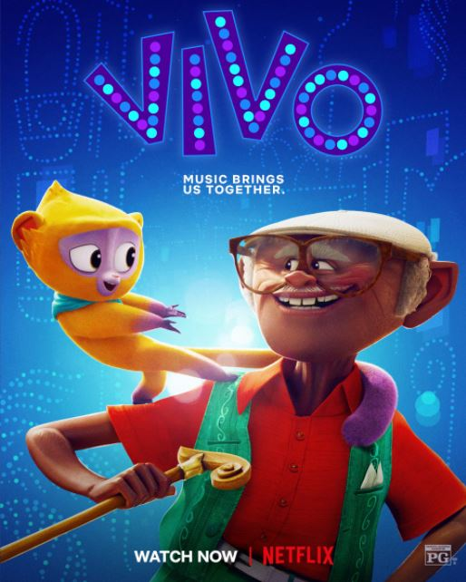 Vivo (2021, dir. Kirk DiMicco with BrandonJeffords)