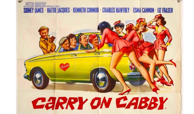 Carry On Cabby (1963, dir. GeraldThomas)