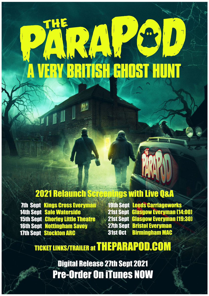 The Parapod: A Very British Ghost Hunt [AKA The Parapod Movie] (2020, dir. IanBoldsworth)
