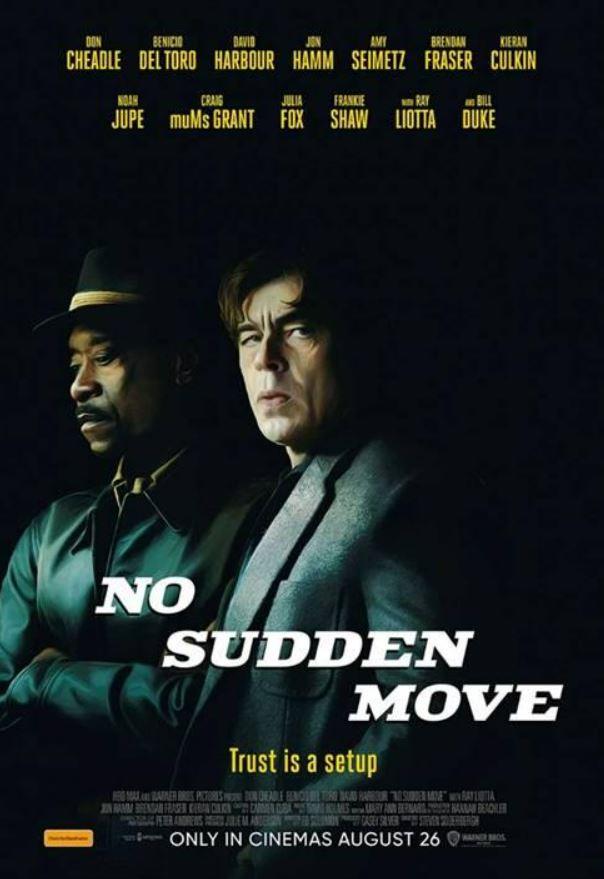 No Sudden Move (2021, dir. StevenSoderbergh)